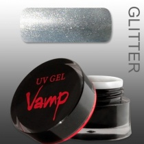 VAMP SZÍNES ZSELÉ No. 815 Silver Bullet, Glitter Collection